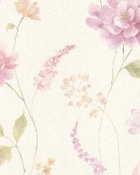 Hanne Purple Floral Pattern by
