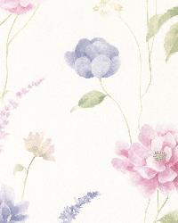 Hanne Blue Floral Pattern by