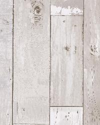 Heim White Distressed Wood Panel by