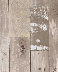 Heim Taupe Distressed Wood Panel by