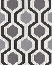 Marina Black Modern Geometric by