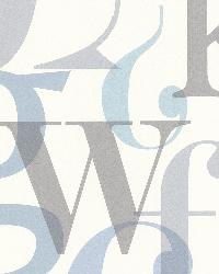 Angus Blue Vintage Letter Font by