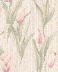 Denning Beige Satin Tulip Texture by
