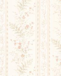 Bell Peach Wildflower Stripe by