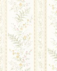 Bell Beige Wildflower Stripe by