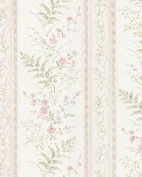 Bell Pink Wildflower Stripe by