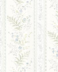 Bell Blue Wildflower Stripe by