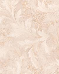 Olivias Beige Baroque Scroll by  Brewster Wallcovering