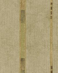 Tenney Beige Checkered Stripe by  Brewster Wallcovering