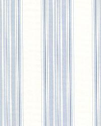 Clancy Blue Shiny Multi Stripe by  Brewster Wallcovering