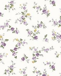 Turtledove Purple Small Rose Toss by
