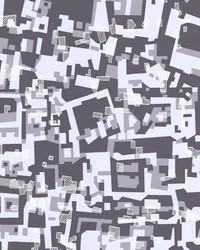 Collision Purple Geometric by