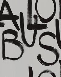 Fabulous Light Grey Brushstroke Text by
