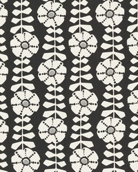 Obliquity Black Floral by