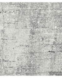 Absolute Concrete Light Grey Graphic Wall Mural by