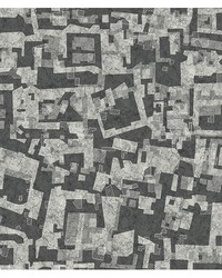 Marble Mara Grey Geometric Mural by