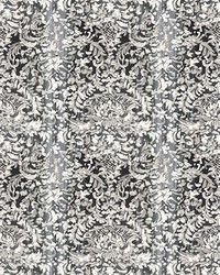 Painted Lace Light Grey Damask Mural by