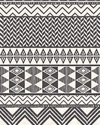 Aztec Stripe Cream Geometric Wall Mural by