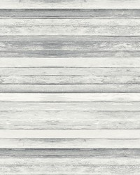 Timber Light Grey Board Wall Mural by