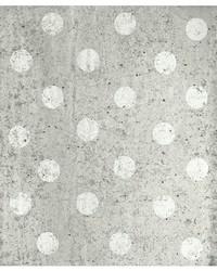 Concrete Dots Light Grey Polka Dot by