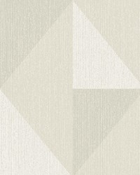 Diamond Grey Tri-Tone Geometric Wallpaper by