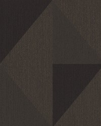 Diamond Bronze Tri-Tone Geometric Wallpaper by