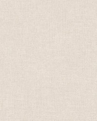 Tweed Cream Faux Fabric Wallpaper by