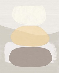 Sand Balancing Rocks Wall Mural by