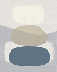 Blue Balancing Rocks Wall Mural by