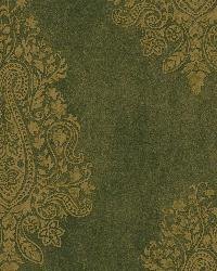 Mehndi Brown Paisley by