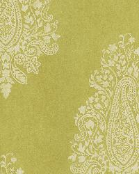 Mehndi Light Green Paisley by