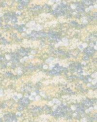 Esther blue Floral Motif by