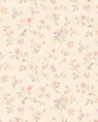 Cindy peach Floral Trail by