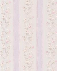 Emma lavender Floral Stripe by