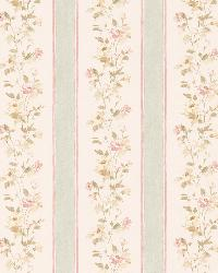 Emma green Floral Stripe by