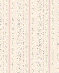 Rachel Pink Floral Stripe by