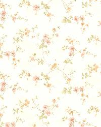 Valerie peach Floral Trail by