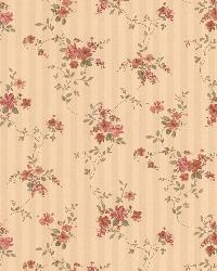 Laurie beige Floral Stripe by