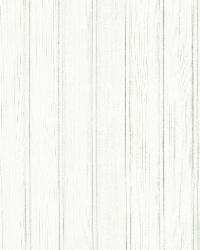 Silva White Wood Panelling by