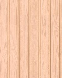 Silva Taupe Wood Panelling by  Brewster Wallcovering