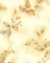 Congedi Gold Leaf Sprigs  by  Brewster Wallcovering