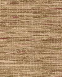 Faraji Light Brown Faux Grasscloth by  Brewster Wallcovering