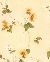 August Yellow Floral Trail by