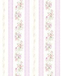 Princess Lavender Floral Stripe by