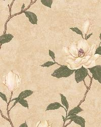 Lilith Beige Floral Branch by