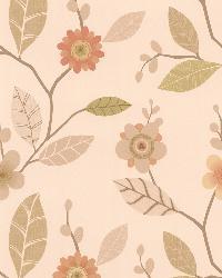 Claudia Apricot Retro Blossom  by