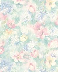Georgia Pastel Floral Motif by