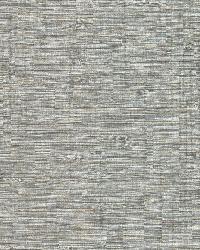 Pontoon Grey Faux Grasscloth  by