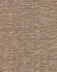 Pontoon Light Brown Faux Grasscloth  by