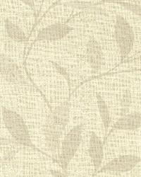 Flora Beige Leaves by